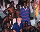 With convicts in Parakou